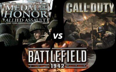 Medal of Honor vs. Call of Duty vs. Battlefield – Amikor kitört a játék-világháború